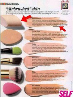 Airbrush makeup without machine