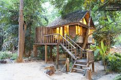 Riverview/Rimtarn cottage Treehouse in Chiang Mai