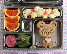 Cutie Bear PlanetBox Bento