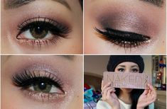 Learn: Urban Decay Naked 3 Palette: Holiday Makeup Tutorial - R