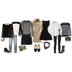"""""""Packing for Paris in April"""" by monicawelle on Polyvore..what  to pack for a trip to Paris in April..more info at www.abonjour.com."""