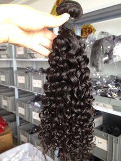 deep curl hair bundles , www.ladayhair.com , whatsapp +86-15053283923