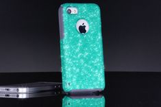 Otterbox iPhone 5c Case Custom Glitter Commuter by 1WinR on Etsy