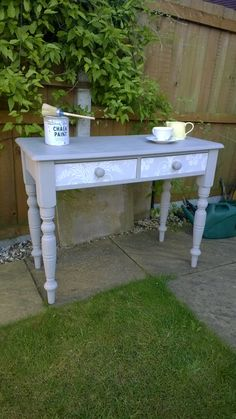Pine ... refurbished using Annie Sloan, Laura Ashley and decoupaged