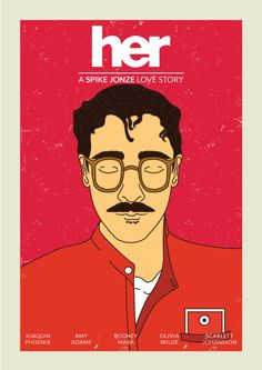 """Check out my @Behance project: """"Her - A Spike Jonze Love Story"""" https://www.behance.net/gallery/44149331/Her-A-Spike-Jonze-Love-Story"""