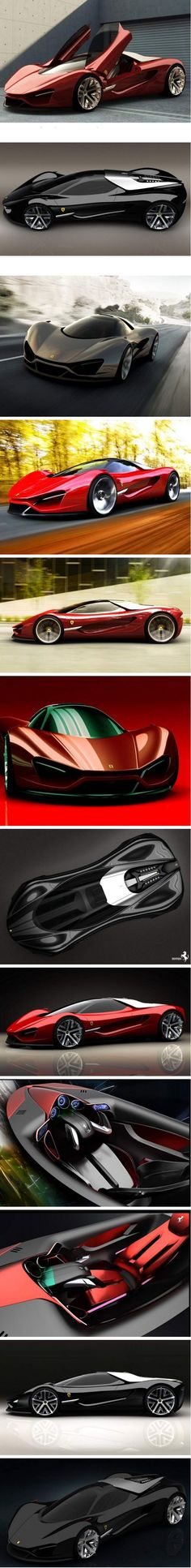 Ferrari Xezri concept   Designed by Samir Sadikhov    I wish it was honda new  NSX....
