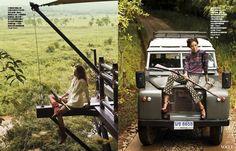 秘境探險Four Seasons Tented Camp Golden Trianngle四季清萊帳篷飯店拍攝服裝大片花絮