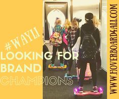 #wayli is looking for 5 BRAND CHAMPIONS to help promote our brand! Brand champions are eligible to receive a discount on their first purchase and other benefits. PM for details, or contact us through www.hoverboard4all.com Requirements: -More than 100 followers -Must be over 16 years of age -Must be U.S. citizen -Need to get 20 friends to like our Facebook page -Must like and share every post #hoverboard #usa