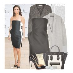 """""""Selena Gomez at the American Ballet Theatre 2014 Opening Night Spring Gala."""" by gomezrevivals ❤ liked on Polyvore featuring Étoile Isabel Marant, Rochas, Kenneth Cole Reaction, Christian Louboutin, CÉLINE and Mémoire"""