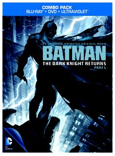 Batman: The Dark Knight Returns Part 1 Released on BluRay & DVD.  #batman, #theDarkKnightReturns, #comics