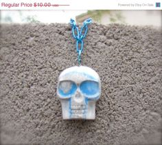 On Sale Mr. Skull Feels A Little Blue by StarfishStratagies, $8.70