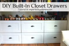 Master Closet Organization Diy Drawers Ideas For 2019