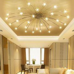 Ceiling Light For Bedroom Modern Minimalist Led Living Room Ceiling Lamps Bedroom Ceiling Lights Cre Bedroom Ceiling, Bedroom Lamps, Ceiling Light Design, Lighting Design, Modern Lighting, Task Lighting, Modern Ceiling, Accent Lighting, Living Room Lighting