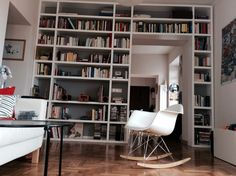 Books and my Vitra chair, What else?