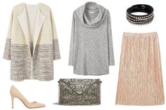 Look del día: falda metalizada y tonos pastel - LUZ DEL TAJO: #Fashion_4_Me