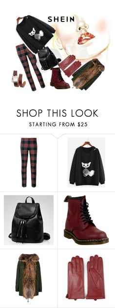 """""""Lovely SHEIN Cat-Sweatshirt!"""" by nela-queen ❤ liked on Polyvore featuring P.A.R.O.S.H., Dr. Martens, Mr & Mrs Italy, Journee Collection and Hermès"""
