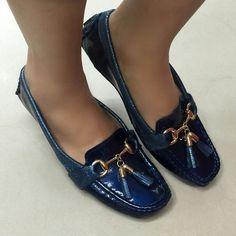Mocasines en cuero disponibles en #LolaAccesorios #ZapatosdeBucaramanga