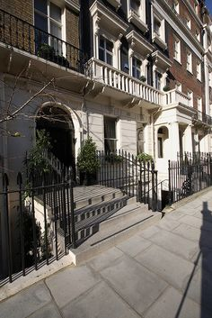 Eaton Place, Belgravia, London Without question, my most favorite place in all the world to live.  JM