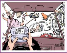 If you are up to Phone while driving Guess What you are Up to? #ZincLegal #comics #Advice