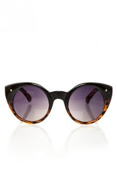 They are circles and cat eyes!!! they were made for me. cat-eye tortoise sunnies.