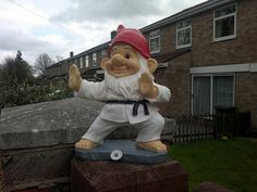 Karate Gnome... I just NEED this