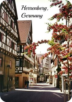 Herrenberg, Germany Photos ~ Century Town, Historic Church with Bell Museum and Cross-timbered Houses Visit Germany, Germany Travel, Wonderful Places, Beautiful Places, Mountain Village, Worldwide Travel, Timber House, Places To See, Travel Destinations