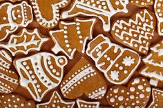 Shop Christmas Gingerbread Holiday Cookies Postage created by stationeryonline. Easy Christmas Cookie Recipes, Christmas Sugar Cookies, Christmas Snacks, Homemade Christmas Gifts, Holiday Cookies, Christmas 2014, Easy Gingerbread Cookies, Christmas Gingerbread, Gingerbread Houses