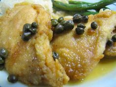 This chicken picatta #recipe is a classic from the early years