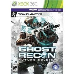 Jogo Xbox 360 Tom Clancy s Ghost Recon: Future Soldier Tom Clancy's Ghost Recon, Tom Clancy Future Soldier, Toms, Latest Video Games, Xbox 360 Games, Playstation Games, Medieval, Futurama, Thing 1