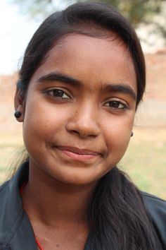 """""""I love being a girl. I think anything is possible, I think I can do anything"""". Singari, 15, India. Read her story: http://www.childreach.org.uk/projects/save-girl-child"""