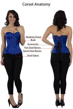 Orchard Corset: Corset Dictionary: Terms You Should Know