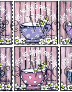 GP x 6 My Beker Loop Oor Stel – Gelamineerde Plekmatjies Printable Quotes, Afrikaans, Brush Strokes, Vintage Kitchen, Mixed Media Art, Arts And Crafts, Printables, Wisdom, Motivation