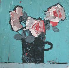 Black Mug by Mhairi McGregor RSW