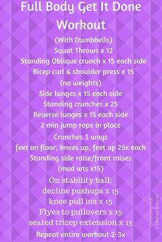 A do (almost) anywhere full body strength training routine that will have you sweating for sure Fun Workouts, At Home Workouts, Group Workouts, Fitness Diet, Health Fitness, Group Fitness, Yoga Fitness, Oblique Crunches, Strength Training Workouts