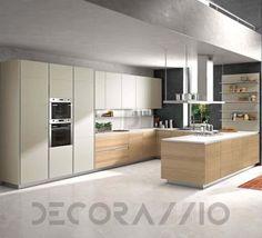#kitchen #design #interior #furniture #furnishings #interiordesign комплект в кухню Snaidero System, Orange_NO