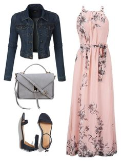 """longo"" by anamaria-64 on Polyvore featuring LE3NO and Talbots"