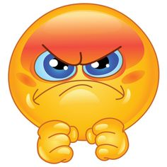 Irritated Smiley - PNG image with transparent background Smiley Emoji, Angry Smiley, Smiley Emoticon, Angry Emoji, Emoticon Faces, Funny Emoji Faces, Funny Emoticons, Smiley Faces, Images Emoji