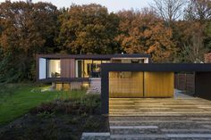 Scandinavian style houses by C.F. Møller Architects