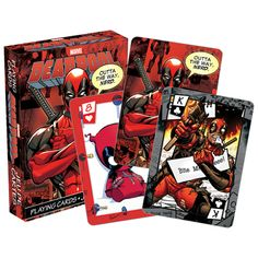 BLOG DOS BRINQUEDOS: Deadpool Playing Cards