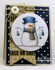 Stamping A Latte: MFT October New Product Tour! love this snowman