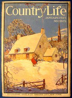 Country Life Magazine Estates Grand Homes Old Magazines, Vintage Magazines, Vintage Ads, Vintage Images, Vintage Posters, Magazine Illustration, Illustration Art, Vintage Illustrations, Country Life Magazine