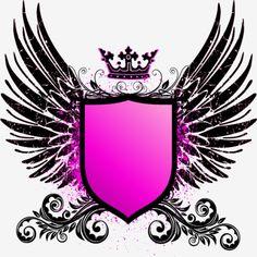 , A Rainha, Dark Wings, O Escudo Cor - De - Rosa PNG e Vector Logo Desing, Game Logo Design, Phone Wallpaper For Men, Galaxy Wallpaper, Gaming Wallpapers, Cute Wallpapers, Cricket Logo, Spartan Logo, Free Avatars