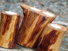 DIY Tree Branch Candles
