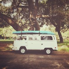 A kayak trip-learn if you're compatible as you paddle together. ❦ VW Bus and Kayaks #lulusrocktheroad