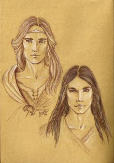 Maedhros and Fingon by lineargreen