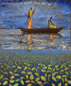 Michel RAUSCHER   Peintures - Huile sur toile -54 x 65