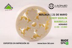 Taller de impresion 3D Leroy Merlin Malaga
