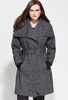 10 Perfectly Polished Plus Size Coats Under $150 | Sexy, Wool and Tes