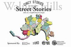 Cincy Stories is launching a multi-media website project, Street Stories, to feature storytelling from each of Cincinnati's 52 neighborhoods, starting in Walnut Hills.