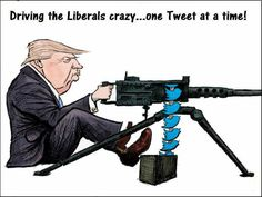 The Libs say that The Tweets ate hurting Trump and that he should stop. I think The Libs are getting their guts kicked in by Trumps Tweets, but try to play it down.